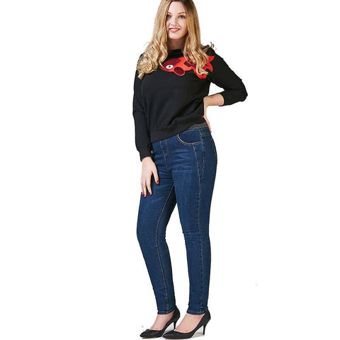 Image of Aurelia Denim Plus Size Stretchy Jeans