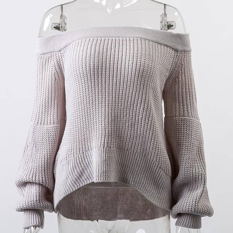 So Sarah Sweater with Lantern Sleeves - Couture Look
