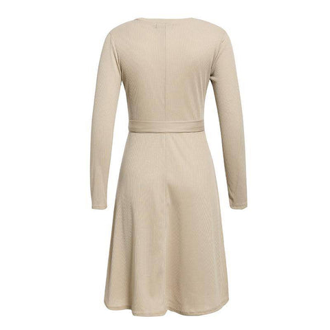 Enticing Erich Knitted Sweater Dress - Couture Look