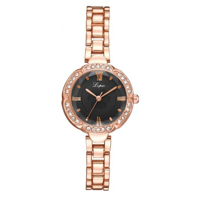 Olivia Crystal Bracelet Watch - Couture Look