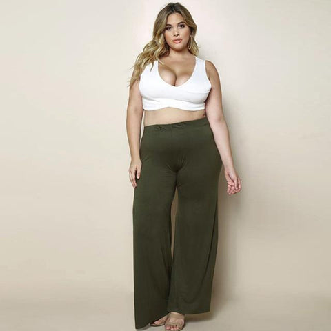 Horace High Waist Wide Leg Pants - Couture Look