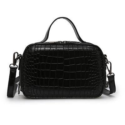 Insta-Ready Crocodile Embossed Mini Handbag - Couture Look