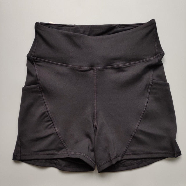 Sassy High Waisted Compression Shorts - Couture Look