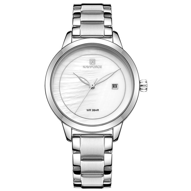 Valentina Stainless Steel Watch - Couture Look