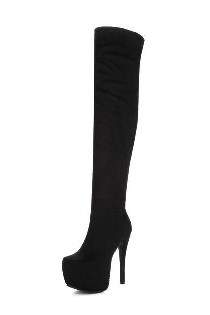 Luscious Chic Over The Knee Boots - Couture Look