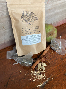 Organic Spiced Anjou Pear Tea Sachets