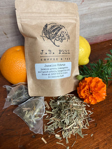 Jasmine Citrus Green Tea Sachets