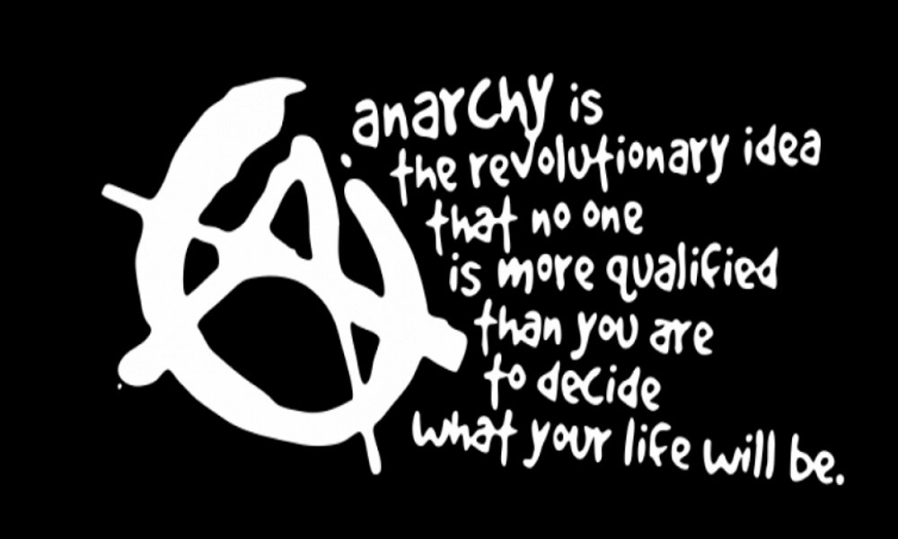 Anarchy in context.