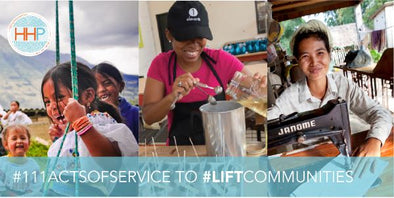 #LIFTCOMMUNITIES: HHP's July act of service