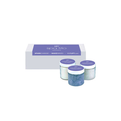 Trio Spa Set in Lavender HHPLIFT Lavender