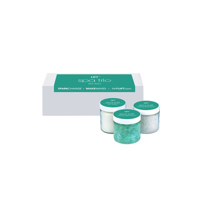 Trio Spa Set in Sea Salt HHPLIFT Sea Salt
