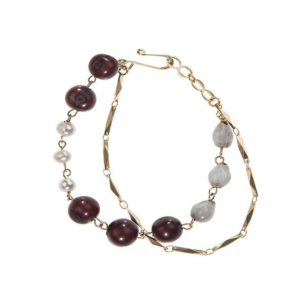 Ashby Bracelet HHPLIFT Burgundy