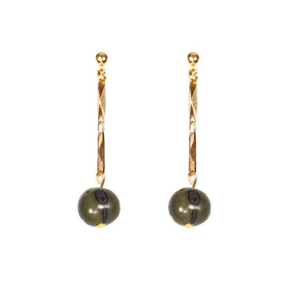 Ashby Earrings HHPLIFT Olive