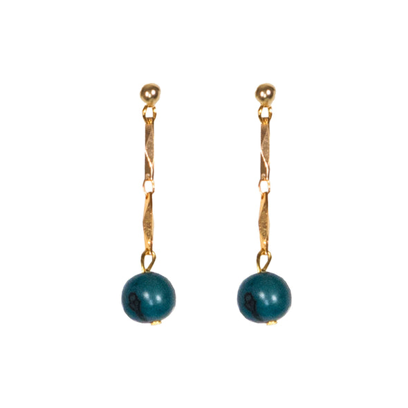 Ashby Earrings HHPLIFT Teal