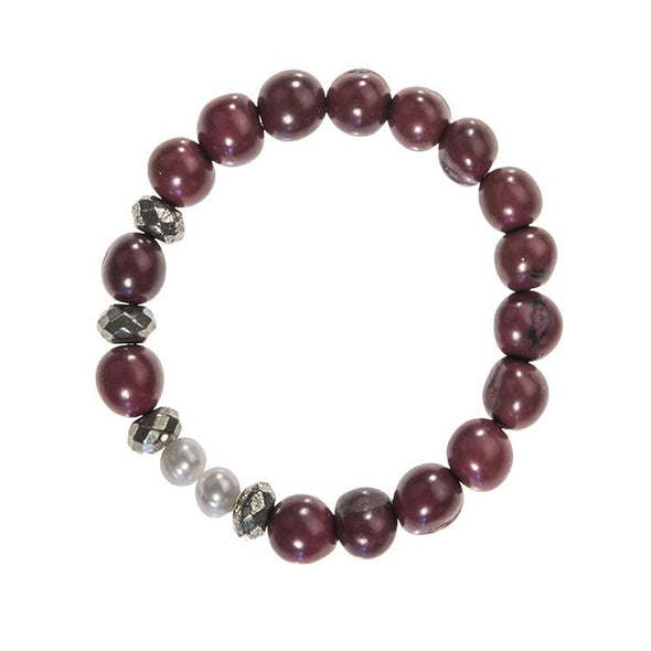 Becket Bracelet (Mixed) HHPLIFT Burgundy