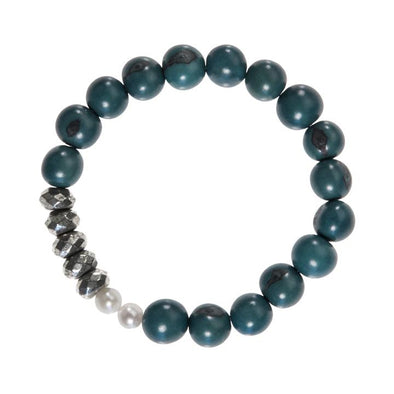 Becket Bracelet (Pyrite) HHPLIFT Teal