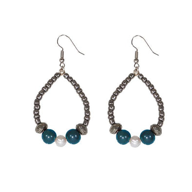 Becket Earrings HHPLIFT Teal