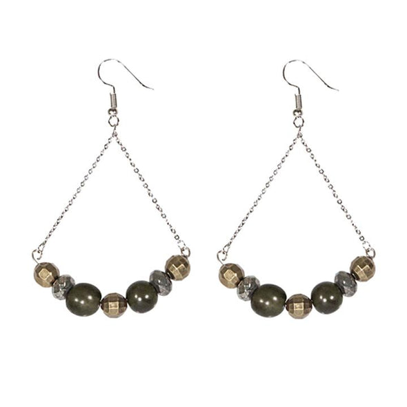 Canterbury Earrings HHPLIFT Olive