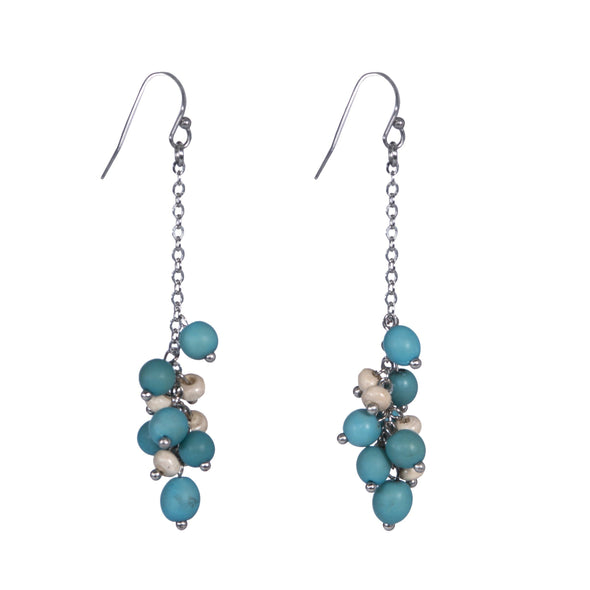 Capri Earrings HHPLIFT Turquoise