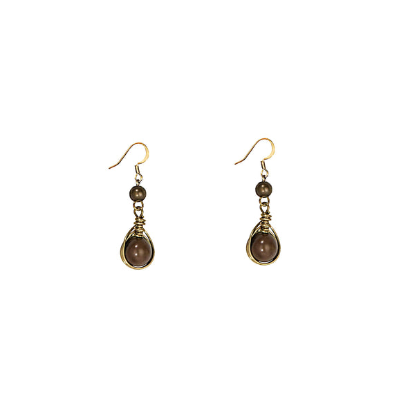 Gatsby Earring HHPLIFT Chocolate