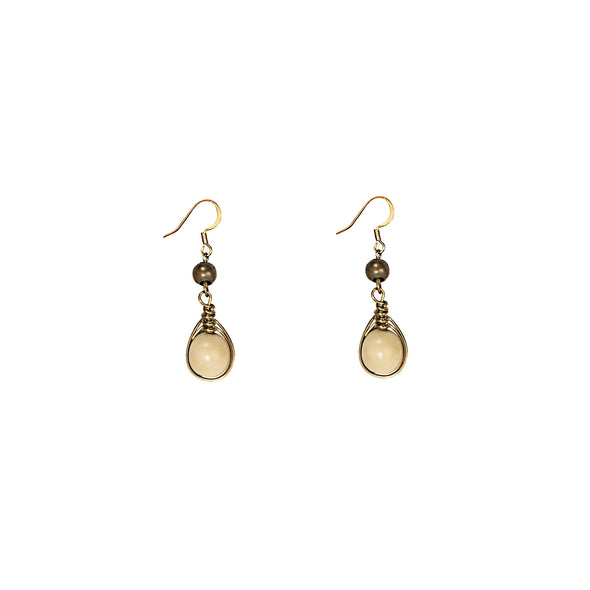 Gatsby Earring HHPLIFT Ivory