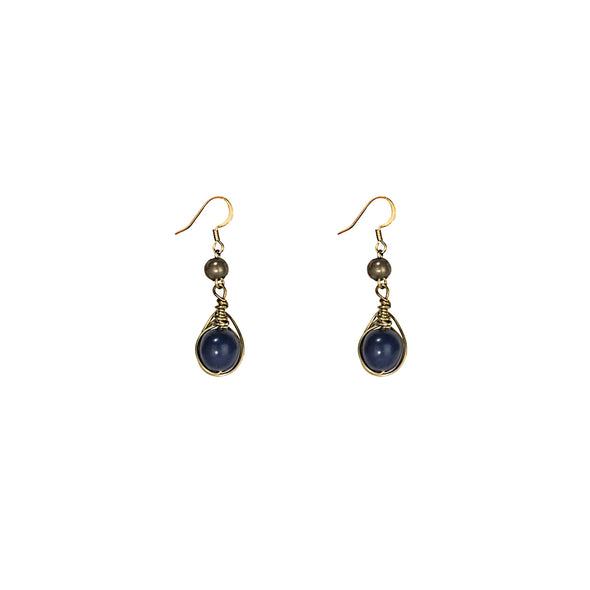Gatsby Earring HHPLIFT Pacific Blue