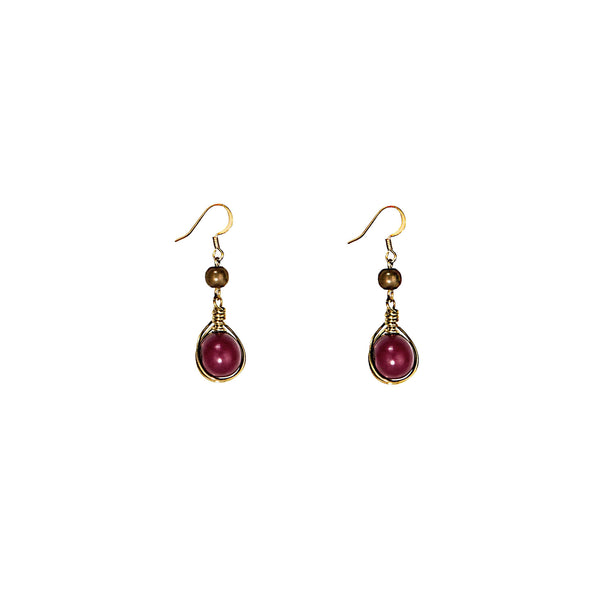 Gatsby Earring HHPLIFT Rose Violet
