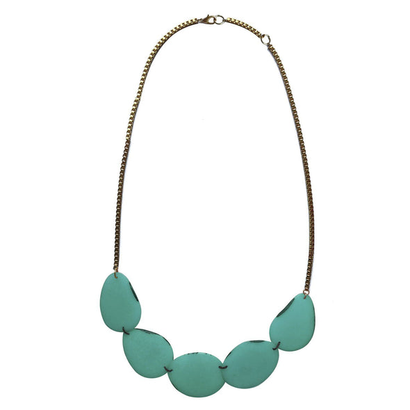 Lotus Necklace HHPLIFT Teal