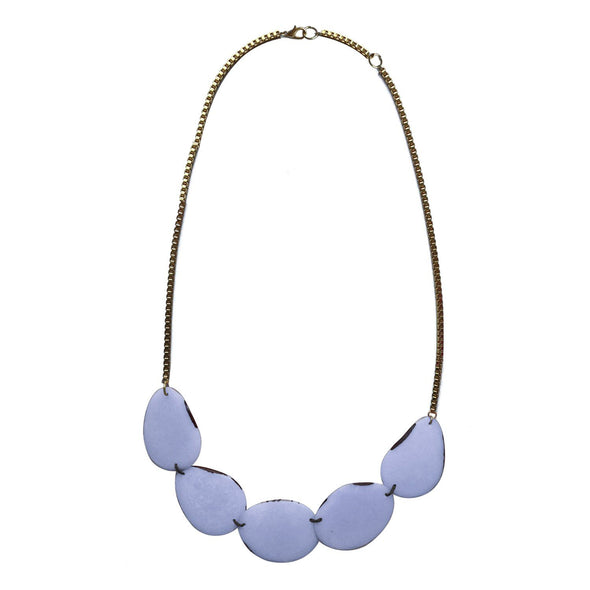 Lotus Necklace HHPLIFT Periwinkle