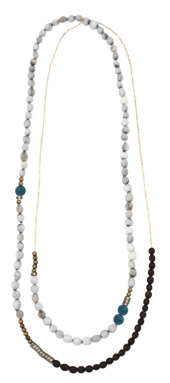 Mae Necklace Outlet HHPLIFT White