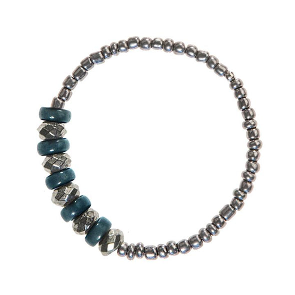 Marian Bracelet (Pyrite) HHPLIFT Teal