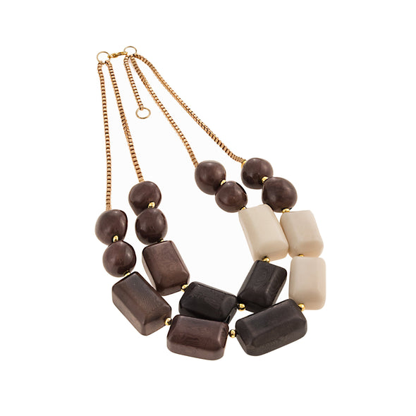 Pablo Necklace HHPLIFT Chocolate