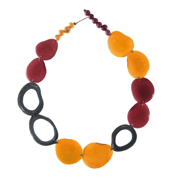 Ventana Necklace HHPLIFT Sunset Orange