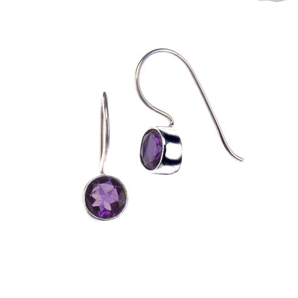 Drop Earrings HHPLIFT Amethyst