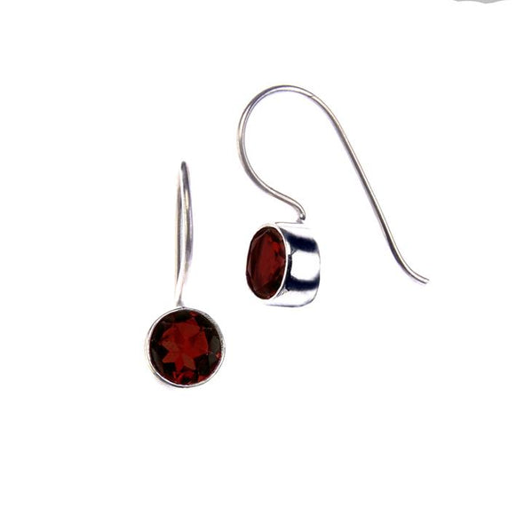 Drop Earrings HHPLIFT Garnet