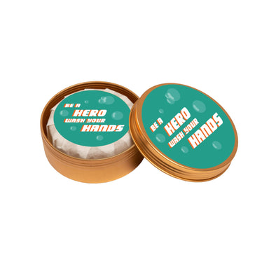 Be a Hero ... Save a Hero (Personal Soap in a Tin) HHPLIFT Citrus Zest
