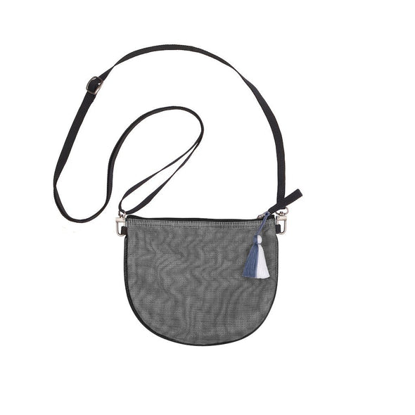 Marlee Bag With Tassel HHPLIFT Charcoal