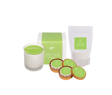 Spa Day Set Mint Tea HHPLIFT Mint Tea