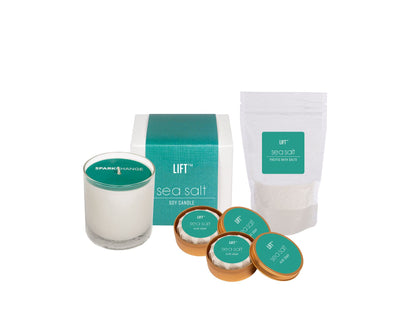 Spa Day Set Sea Salt HHPLIFT Sea Salt
