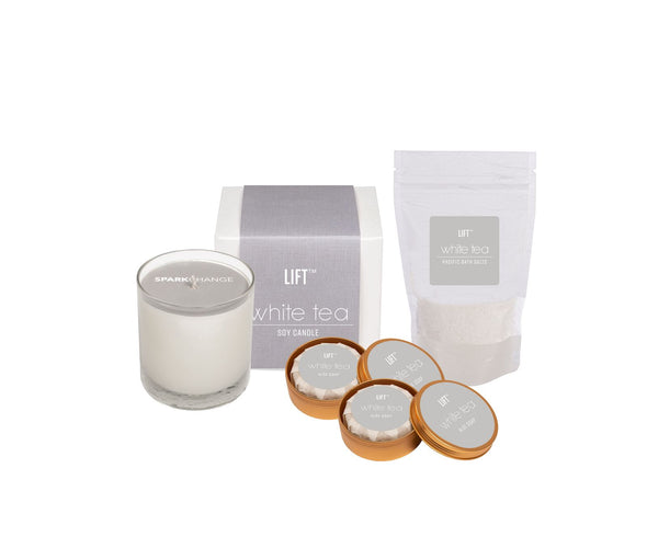 Spa Day Set White Tea HHPLIFT White Tea