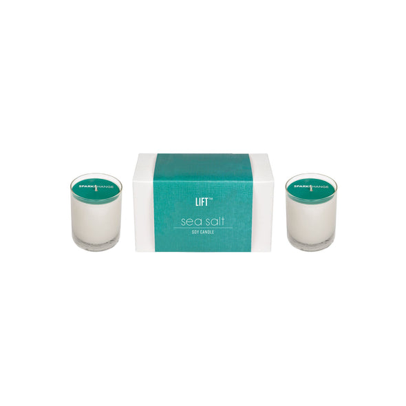 Double 2oz Votive Sea Salt HHPLIFT Sea Salt