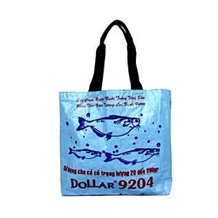 Recycled Tote HHPLIFT Light Blue