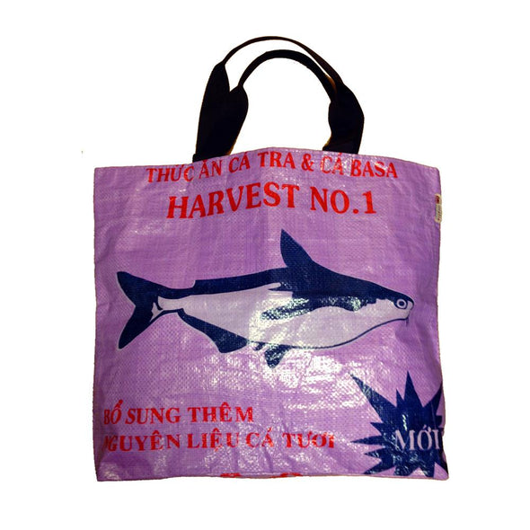 Recycled Tote HHPLIFT Purple