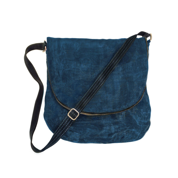 Courier Bag HHPLIFT Navy Blue