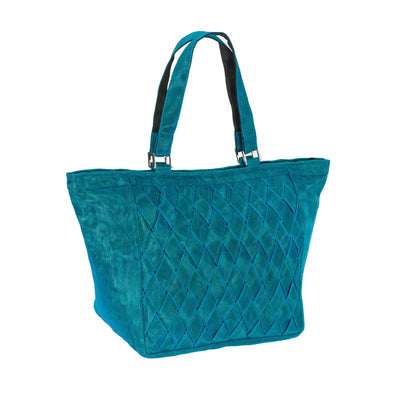 Woven Tote HHPLIFT Teal