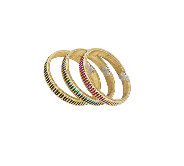 Woven Palm Bracelets - Gold HHPLIFT