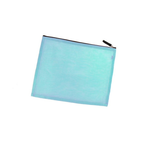 Large Zippered Portfolio HHPLIFT Light Blue
