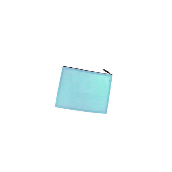Medium Zippered Portfolio HHPLIFT Light Blue