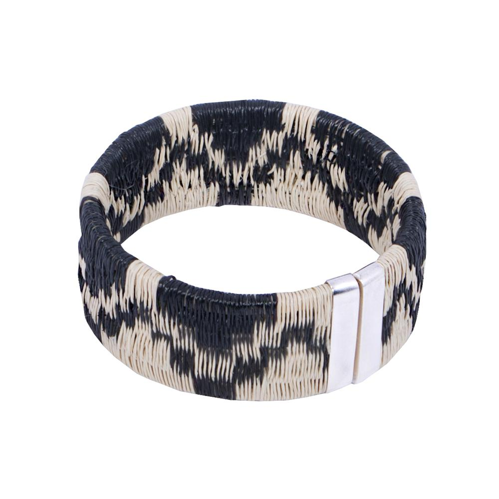 Palm Woven Cuff - Mountain HHPLIFT Mountain Black