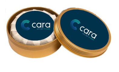Cara Spark Tin in White Tea HHPLIFT
